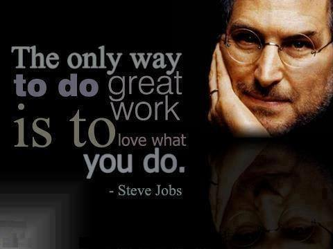 Quote Great Jobs by Steve Jobs