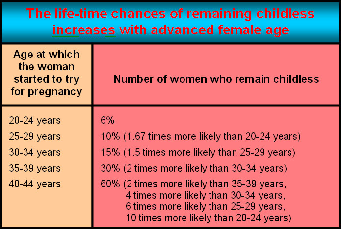 Lifetime Childlessness