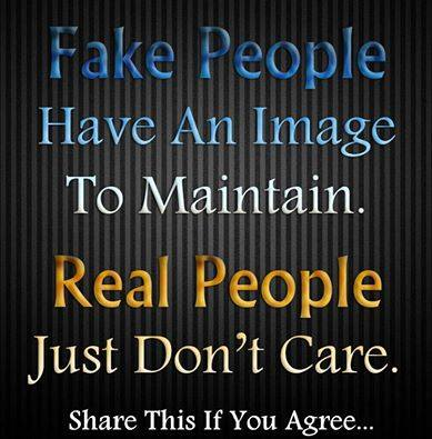 1aFake and Real people, Image